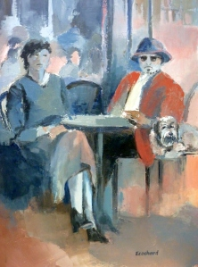 2013 - Couple au bar - 0.60mx0.80m