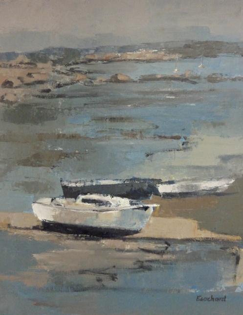 Bretagne Acrylique sur toile 2014 0,54mx0,65m