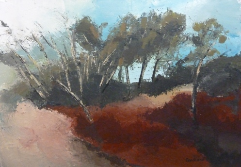 En Provence Acrylique 2016 73x54cm