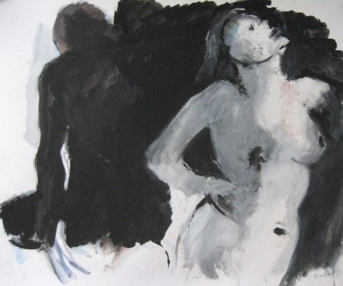 Buste de Femme - Croquis sur papier - 2007