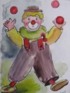 Le clown -