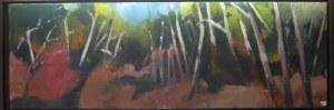 Pinède - Acrylique sur toile - 2008