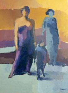 Femme et EnfantAcrylique sur toile 2012