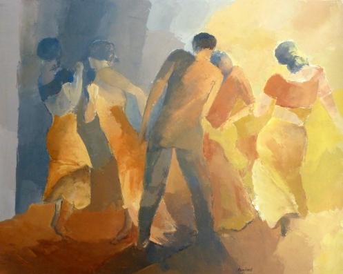 DanseAcrylique sur toile 2012