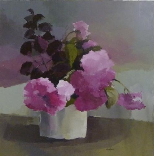 BouquetAcrylique sur toile 2012
