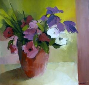 BouquetAcrylique sur toile 2013
