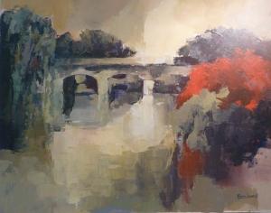 Le Pont - Acrylique sur toile 2013