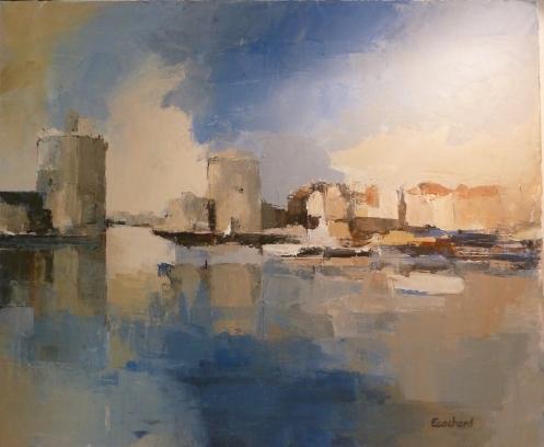 Les Tours de La Rochelle - Acrylique sur toile 2013