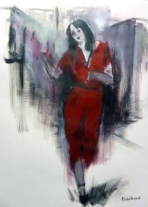 Acrylique sur papier 2016