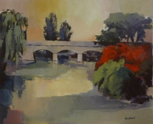 Le Pont à Simandre sur Suran