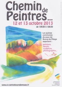 Chemin de Peintres 12-13 octobre 2013