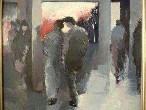 2014 - Au musée - 0,40mx0,40
